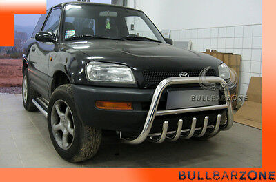 Toyota Rav4 I 1994-2000 Tubo Protezione Medium Bull Bar Inox Stainless Steel