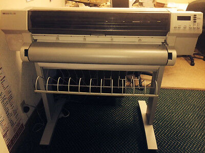 Used HP DesignJet 755CM Large Format Printer/ Plotter