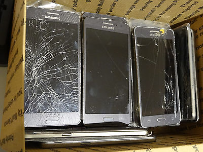 Lot of 22 Samsung Galaxy Grand Prime SM-G530T T-Mobile Smartphones AS-IS GSM *