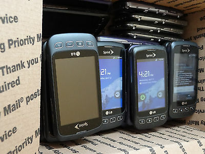 Lot of 31 LG Optimus S LS670 Sprint Smartphones Most Power On AS-IS