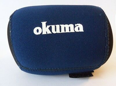 Okuma Neoprene Fishing Reel Cover - Size Small - Velcro Close - Okuma ARS1