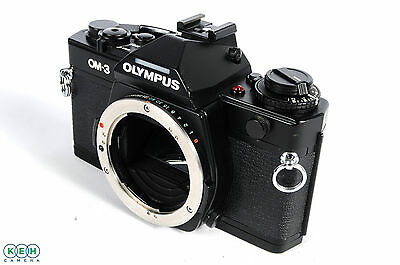 Olympus OM3 Black 35mm Camera Body