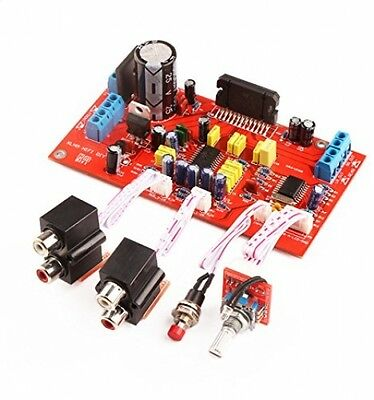 DROK® TDA7850 Car Amplifier Board 4*50W Treble Bass Adjustable DC/AC 12V HIFI