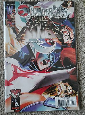 THUNDERCATS/BATTLE OF THE PLANETS one-shot - Alex Ross variant cover