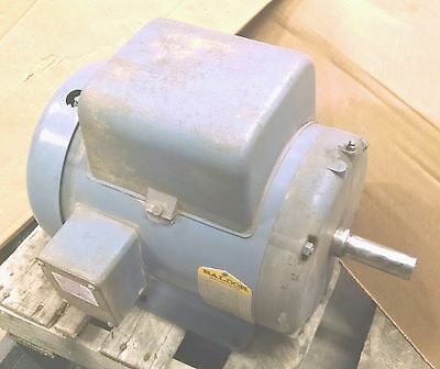 3 HP 1ph Heavy duty Baldor Electric Motor Single Phase 3HP 115v 230v 230 volts