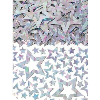 Star Shimmer Silver Prismatic Table Confetti 14g Party Sprinkles/Decorations