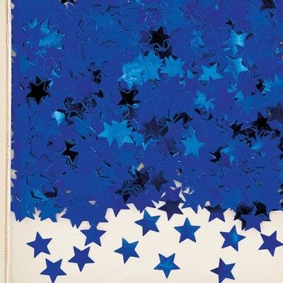 Stardust Blue Metallic Table Confetti 14g Party Sprinkles/Decorations