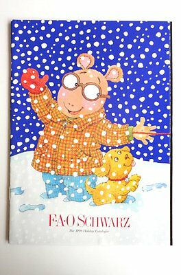 F.A.O. SCHWARZ  HOLIDAY 1998 Toy Catalog MINT Condition