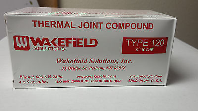 Wakefield Solutions Thermal Joint Compound 120-5 Silicone 4 x 5 oz. Tubes