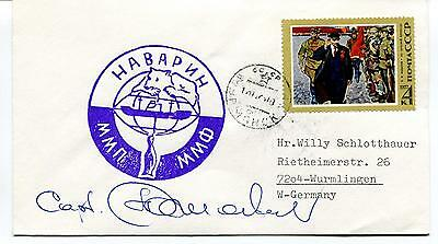 Murmansk Polar Antarctic Cover SIGNED