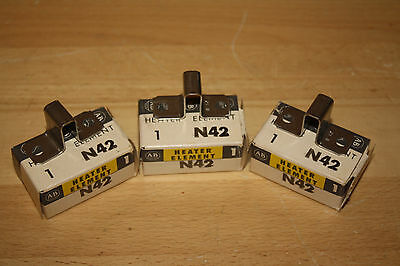 Allen-Bradley N42 Overload Heater Element **Lot of Three** New in box old stock