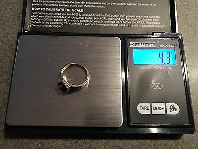 10K Gold Class Ring 1988 Scap or Wear 4.3 grams - Tested