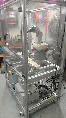 Mitsubishi Movemaster RV-M1 CNC 5 Axis Robot with Teach Pendant w PLC