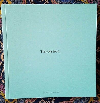 Tiffany & Co. 2007-2008 Blue Book *NEW* AMAZING  Great for collectors!
