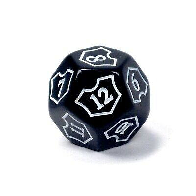 MTG D12 SpinDown Planeswalker Loyalty Counter Dice 25mm Magic: The Gathering