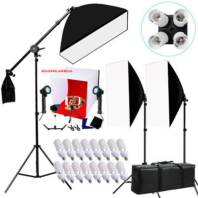 2600w Photography Softbox Continuous Lighting Soft Box Tent Cube Light Stand Kit