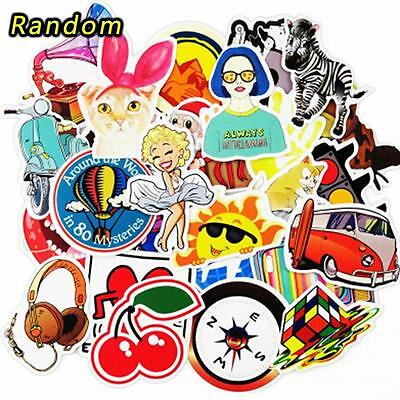 25/50/100x Sticker Bomb Decal Vinyl Roll for Car Skate Skateboard Laptop Luggage
