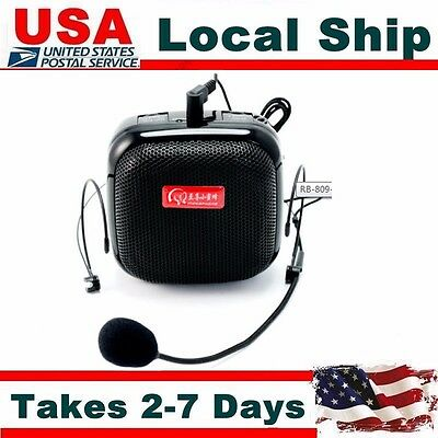 Portable Amplifier RB-809 25W Mini Size Voice Booster Microphone For Instructor