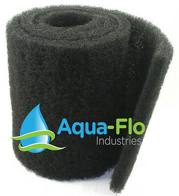 "24""x 56""x 1.25"" Coarse Black Universal Pond Filter Mat aquarium-filtration-media"