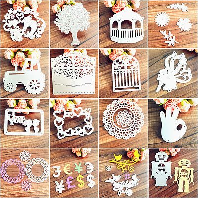 1x Metal Cutting Dies Stencil DIY Scrapbooking Embossing Album Paper Card Craft