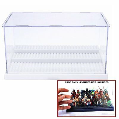 Clear Acrylic Display Case Transparent Dustproof Box Toy Doll Showcase Box