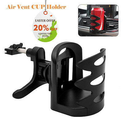 UK Car Van Drink Cup Holder Stand Universal Air Vent Mount Beverage Bottle Can