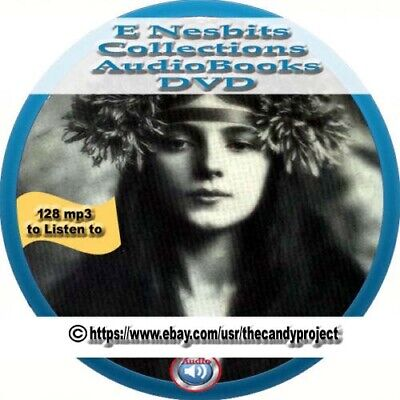 Edith Nesbit  Audio Books Collection Book of Dragons 128 mp3 DVD