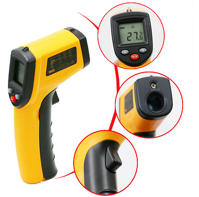 Digital Non-Contact Infrared IR Thermometer Temperature Laser Gun -50℃ to 380℃!!