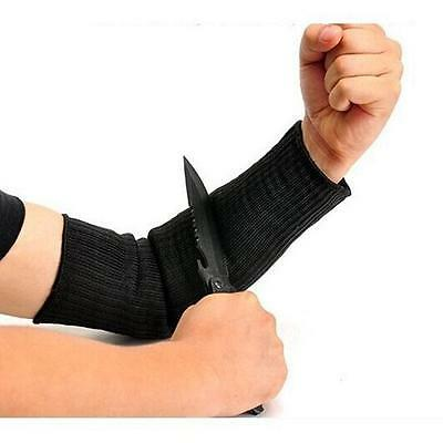 NEW 1 Pair Top Cutting Outdoor Self-defense Arm Guard Ggainst Knife Cut Armbands