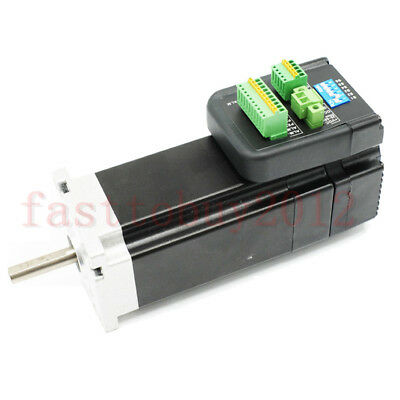 NEMA23 180W 140W 100W 0.6Nm Integrated Servo Motor+ Drive 3000RPM 36VDC CNC Part
