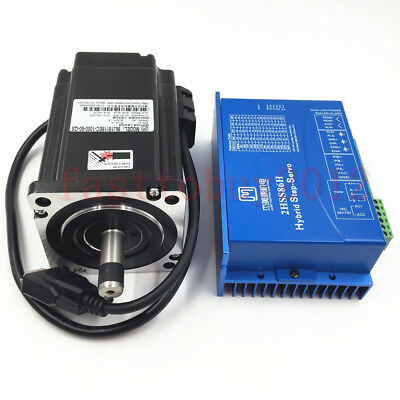 JMC 8.5NM Closed Loop Stepper Motor NEMA34 + Easy Servo Driver 1000line Encoder