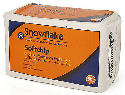 22Kg Snowflake Softchip Wood Shavings horses, poultry, chickens, small animals