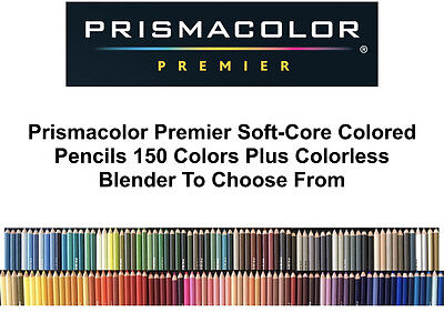 Prismacolor Premier Soft Core Single Colored Pencils Individual E thru O Colors