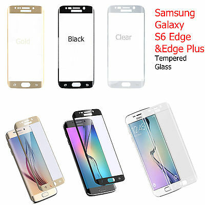 Tempered Glass Screen Protector Scratch Resist for Samsung Galaxy S6 edge plus