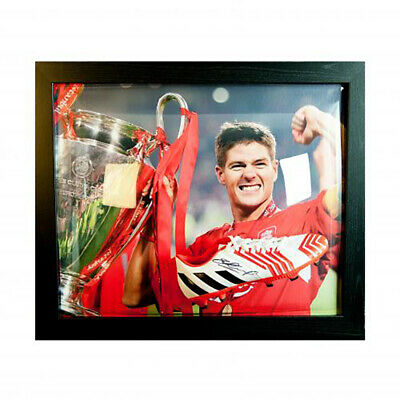 Liverpool F.C - Framed Signed Football Boot (STEVEN GERRARD)