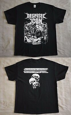 """Despised Icon official T-shirt """"Bad vibes"""" black NEW (M,L,XL)"""