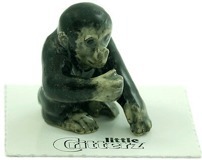 "Little Critterz - 130105 ""Trust"" Gorilla Baby - Vanishing Wildlife in Box"