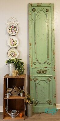 Distressed Rustic Country Antique Shabby Garden Door Wood Wall Panel Art Vintage