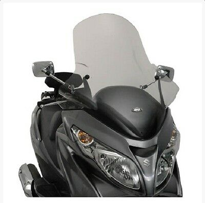 Givi Specific Clear Screen Suzuki Burgman An400 2007 - 2016 With Fitting Kit
