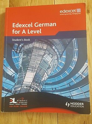 Edexcel German for A Level: Student's Book by Hodder Education (Mixed media prod