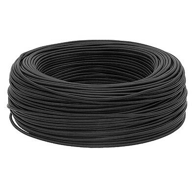 10 m of Coaxial cable RG-58 Cu black , 50 ohms , Copper Wire - CB / HAM Radio