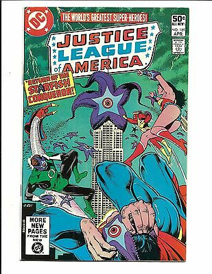 JUSTICE LEAGUE OF AMERICA # 189 (Cents issue, APR 1981), NM-