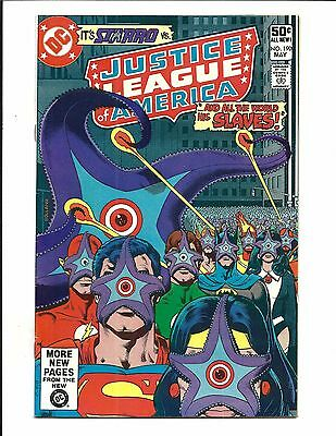 Justice League Of America # 190 (May 1981), Nm