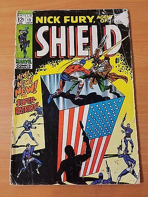 Nick Fury, Agent of SHIELD #13 ~ GOOD GD ~ (1969, Marvel Comics)