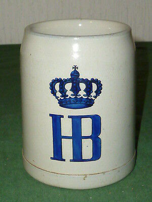 Antique Beer Tankard Munich Hofbräuhaus JUG JUGS HB Munich Beer Mugs Beer Stein