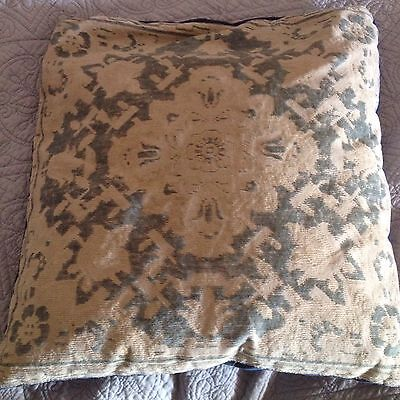 Vintage Cushion. Textured Chenille