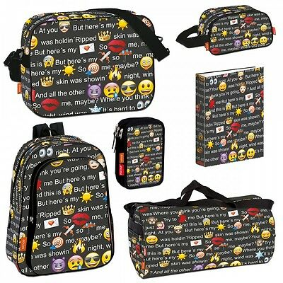 Emoji Smiley Backpack Rucksack Messenger School Travel Gym Holiday Bag ORIGINAL