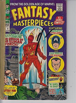 Fantasy Masterpieces 9 - 1967 - Captain America - Kirby - Very Good +