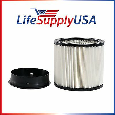 Replacement Filter for Shop Vac Shop-vac ShopVac 90304 Cartridge Ring Included