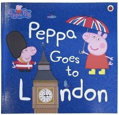 Peppa Pig Goes To London NEW Paperback Childrens Picture Book 9780241294567 Kids